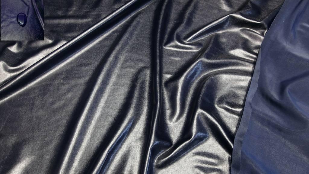 bi elastisch glanzjersey wasserabweisend stoff stoffe meterware 4 farben b ebay. Black Bedroom Furniture Sets. Home Design Ideas