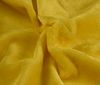 Yellow Faux Fur Rabbit Imitation Soft fabric