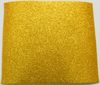 gold EVA Glitter 2mm Foam Rubber Plate 20cm X 29,5cm fabric