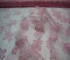 pink Petals Mesh Fabric princess net