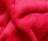 Red Soft Fleece Fabric high quality