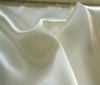 Wool White Heavy Satin Fabric
