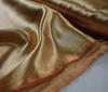 Gold Heavy Satin  Fabric