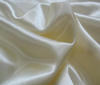 White-gold Heavy Satin Fabric