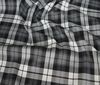 Gray~;white ORIGINAL SCOTTISH TARTAN FABRIC YARD WARE