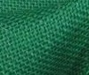 green 100% Jute Fabric Burlap Sackcloth
