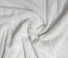 white Terry terrycloth heavy 2sided fabric