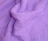 lilac Terry terrycloth heavy 2sided fabric