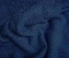 dark blue Terry terrycloth heavy 2sided fabric