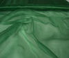 Dark green Organza Fabric Bridal Wear