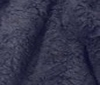 dark blue PLUSH FUR FABRIC CURL FAUX FUR