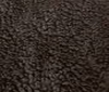 dark brown PLUSH FUR FABRIC CURL FAUX FUR