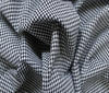 Black Patchwork Cotton Fabric Vichy 2mm