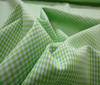 Light green Patchwork Cotton Fabric Vichy 2mm