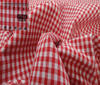Red Patchwork Cotton Fabric Vichy 5mm