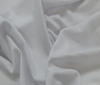 White Bi-Stretch Viscose Jersey Frabric fabric