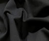 Black cotton Sweatshirt Fabric Soft