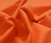 Orange cotton Sweatshirt Fabric Soft