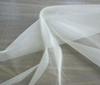 pure white 100% Silk Organza Fabric Bridal Wear