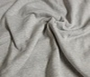 light grey - mélange Cotton Sweatshirt Fabric Mélange
