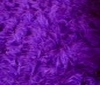 violet Teddy Long hair Fur Fabric Faux Fur