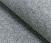 Grey melange Craftwork Felt Felt Fabric 4MM - 100CM