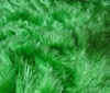 green Faux Fur Synthetic Turf 1,5cm Long Hair fabric