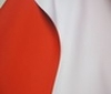 red ~ white Doubleface Stretch Neoprene Fabric
