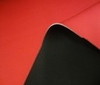 black ~ red 3mm Stretch Neoprene Fabric Doubleface