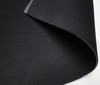 black ~ black 3mm Stretch Neoprene Fabric Doubleface