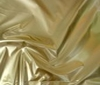 gold High Quality Patent Leather Fabric