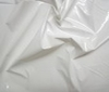 white High Quality Patent Leather Fabric