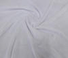 white High Quality Bi-Stretch Velvet Fabric