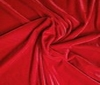 red High Quality Bi-Stretch Velvet Fabric