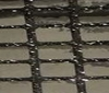 silver ~ black Squarish 8x8mm Sequins Fabric