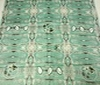 green Patchwork Afro-Look Cotton Fabric