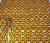 terracotta Patchwork Afro-Look Cotton Fabric