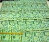 green ~ yellow Patchwork Afro-Look Cotton Fabric