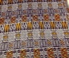 blue ~ yellow Patchwork Afro-Look Cotton Fabric