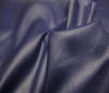Dark Blue Water-repellent Linen Fabric Coated