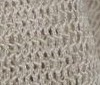beige Super Stretch Mesh Net Fabric