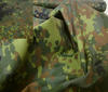 Multi-coloured Camouflage Fabric Twill