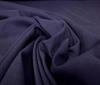 Dark blue 100% wool muslin fabric