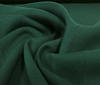 Rest 2m(1,5m+0,5m) Dark green 100% wool muslin fabric