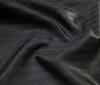 Black High Quality Silk fabric Stripe Design Shimmer