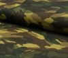 Green ~; Brown High quality cotton PU leather fabric camouflage