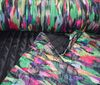 Black ~; colored waterproof Doubleface quilting FABRIC FEATHERS