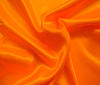 Neon-orange Heavy Satin Fabric Water Resistant