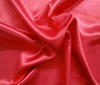 Red Heavy Satin Fabric