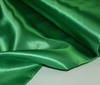 Grass-green Heavy Satin  Fabric